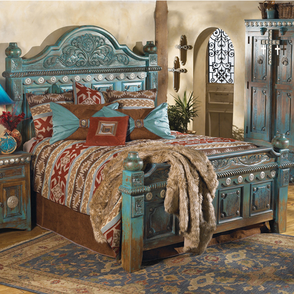 Las Cruces Bed | Copper Beds | Copper bedroom | Copper Furniture