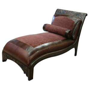 Chaise lounges jorge kurczyn western furniture for Chaise western