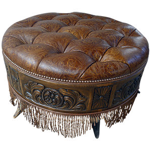 otm07a | Western ottomans | Western living room | Western Furniture